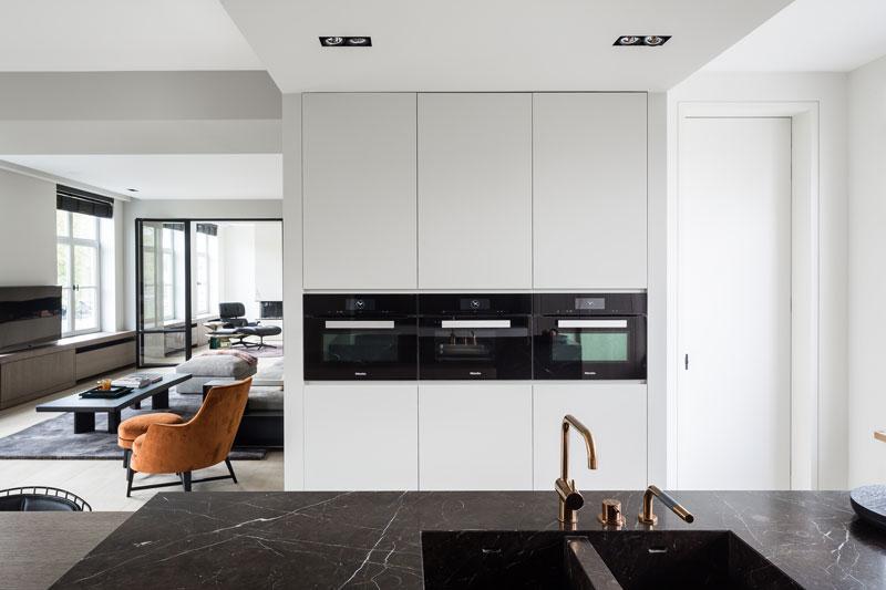 keukenkraan, vola, goud, luxe touch, luxueus, herenhuis, marmer