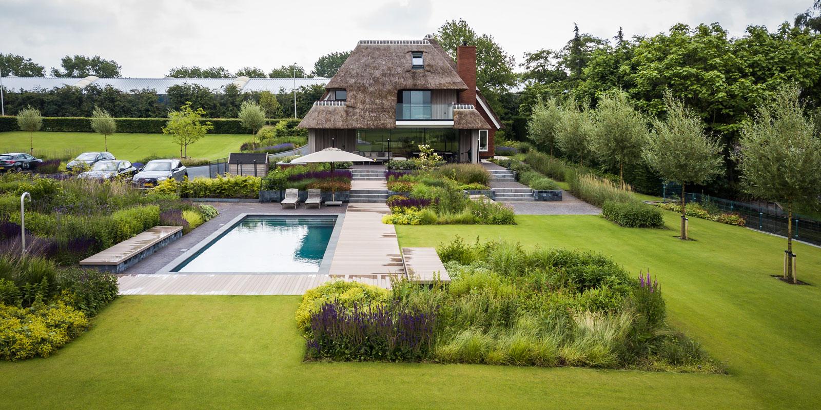 Landhuis, Jaren '30 woning, Villa, Villa met zwembad, Zwembad, luxueuze villa, Marcel de Ruiter