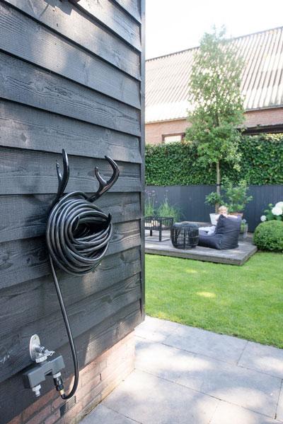 Overkapping in de tuin, Buytengewoon tuinontwerp, sfeervol, luxe, kindvriendelijk