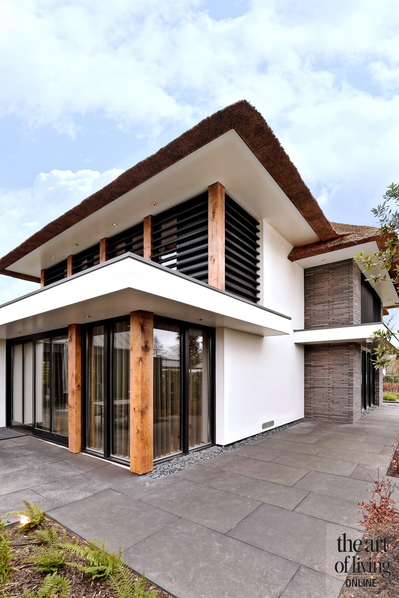 Raambekleding, Livium, Lamellen, Exclusieve villa