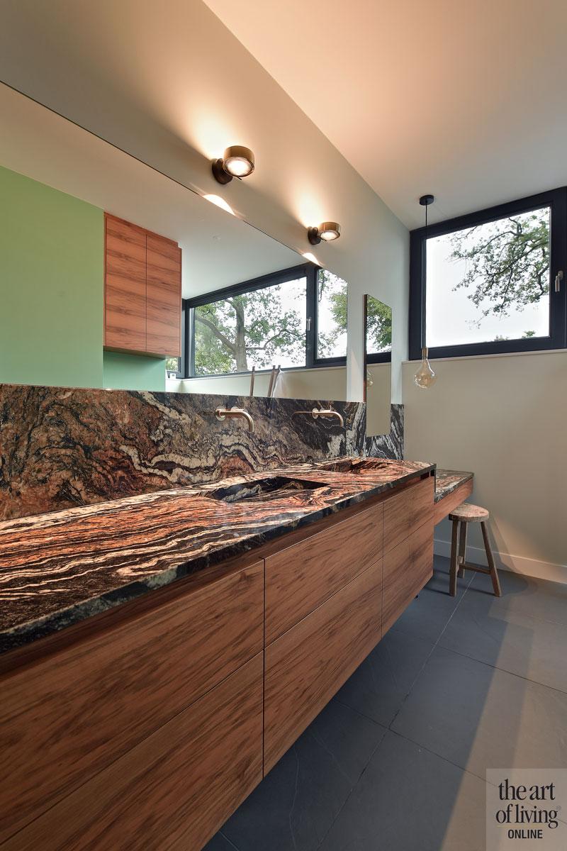 Wasbak meubel, Cosentino, Badkamer, marmer, natuursteen