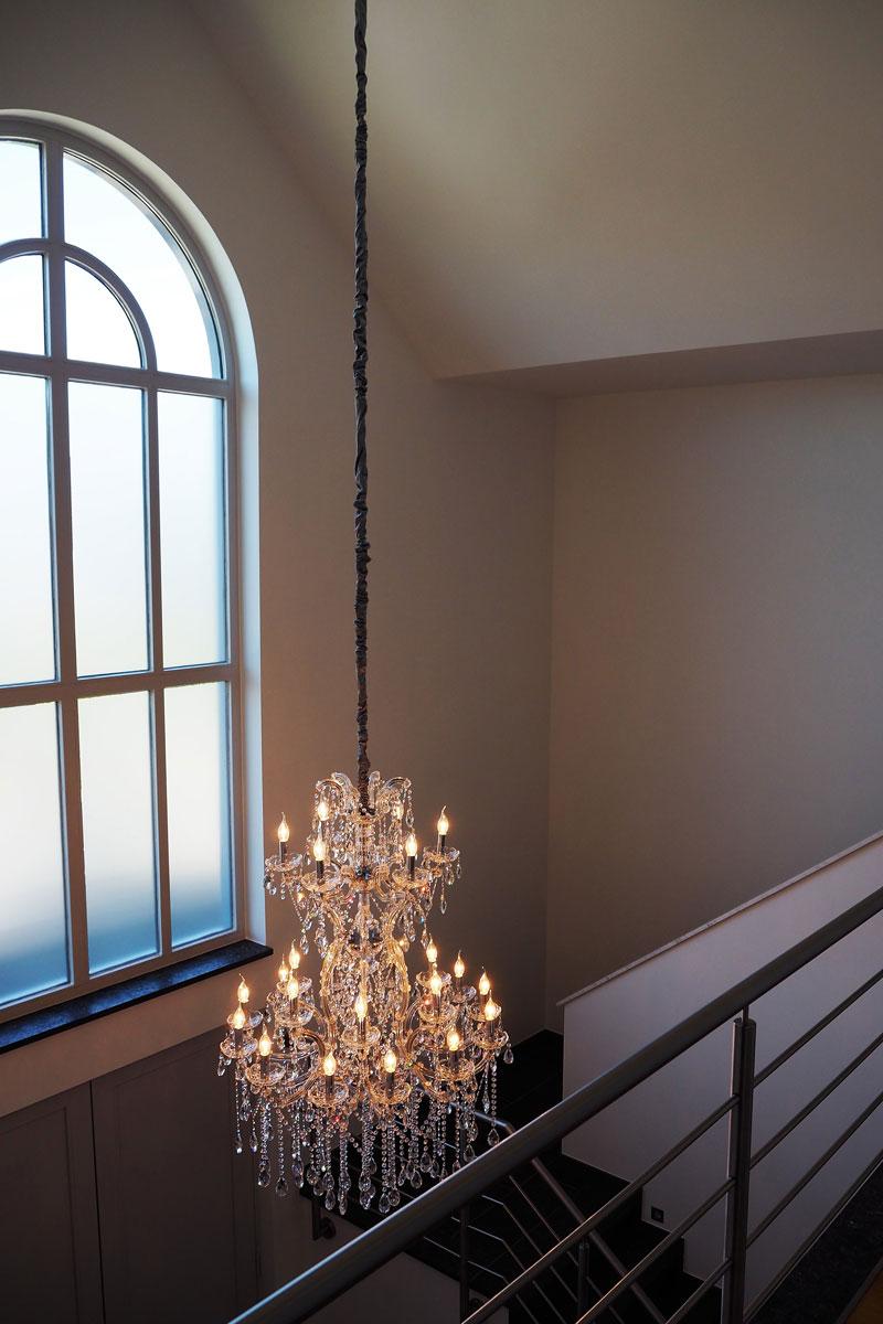 Kristallen kroonluchter, Haagsche Kunsthandel, kroonluchter, verlichting, klassiek, exclusief lichtplan