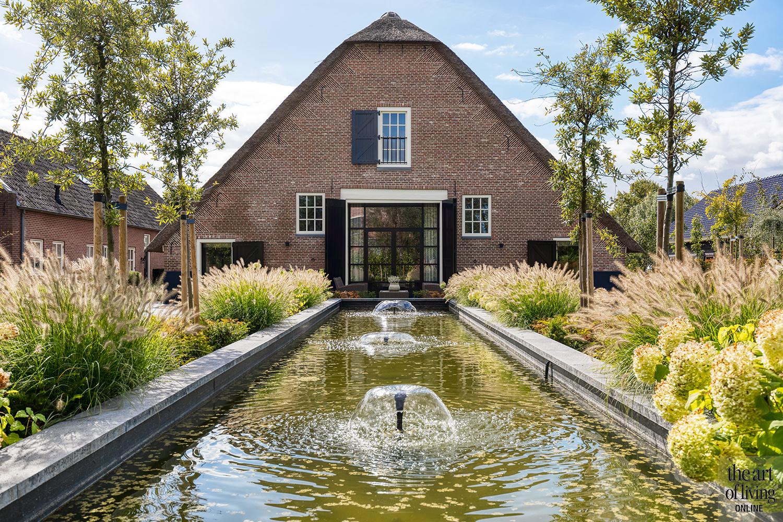 exclusief interieur, studio vendrig, high-end familieboerderij, stalen deuren, buitenzwembad