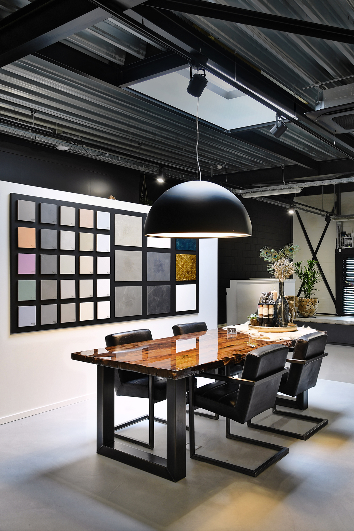 B-Art Gietvloeren, gietvloer, duurzaam, showroom