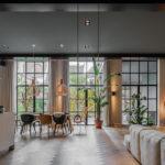 minimalistisch interieur, StrandNL, historisch pand, landelijk interieur, visgraatvloer
