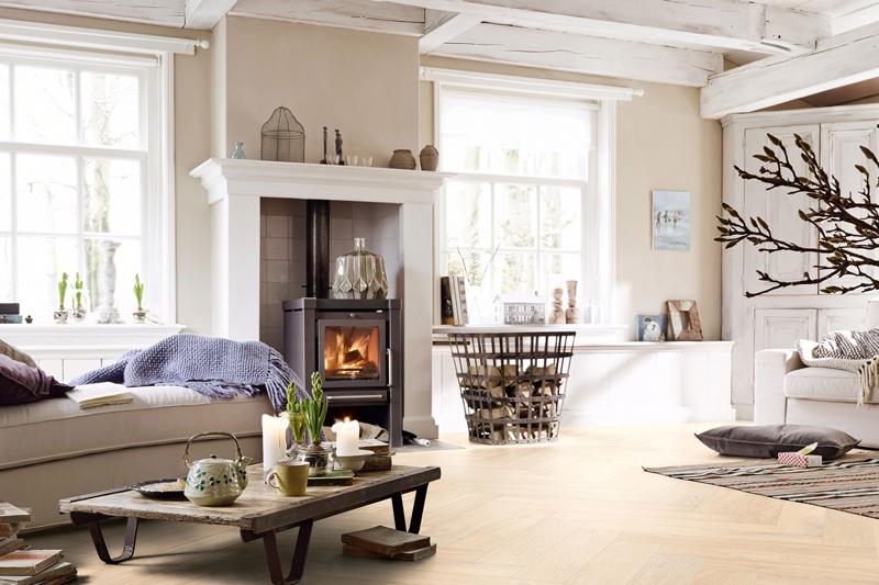 houtkachel, Reny Haarden, eyecatcher, gezelligheid, warme uitstraling, luxe