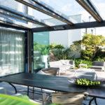 glazen tuinkamer, Van van Ee, terrasoverkapping