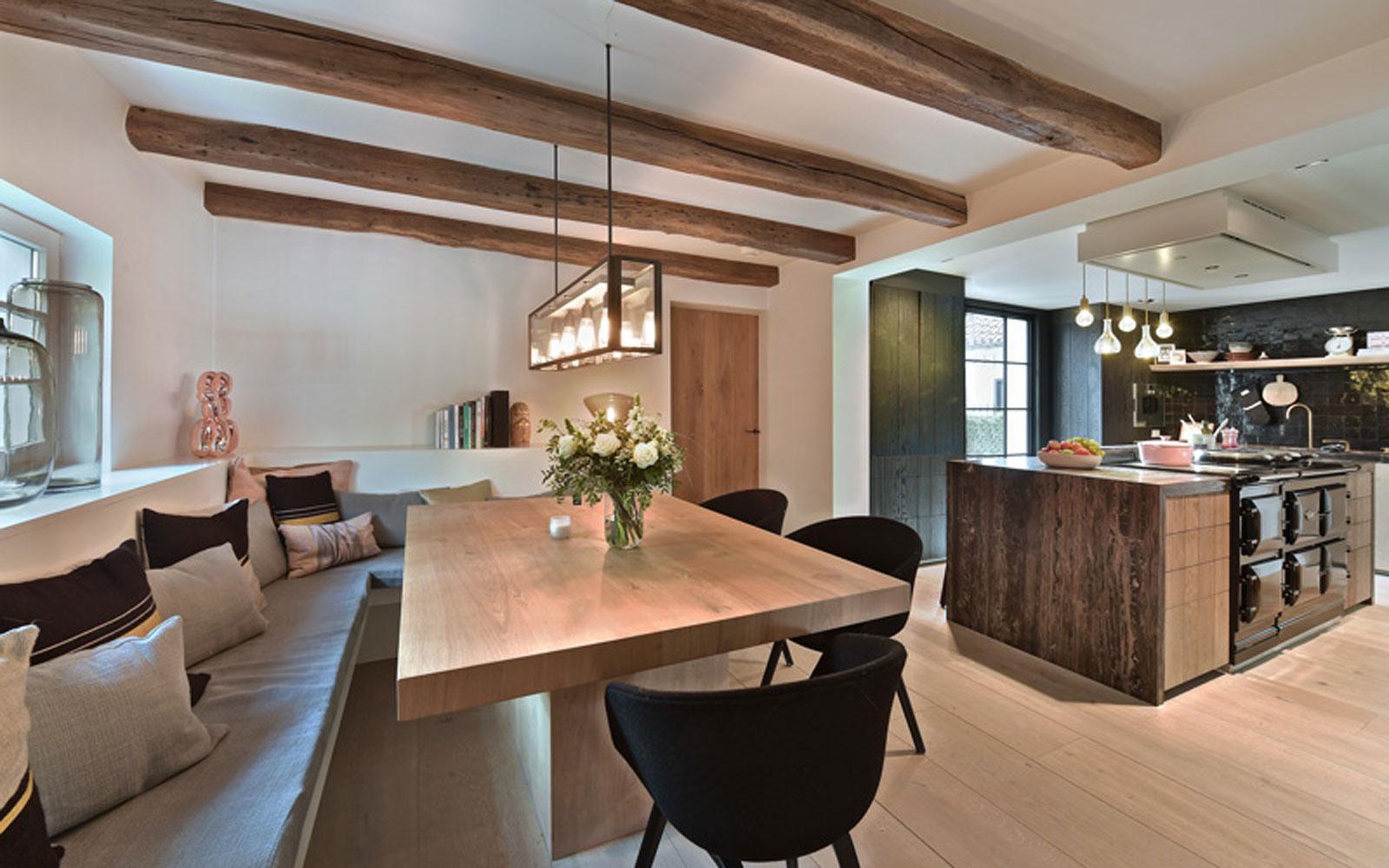 Landelijke keuken, bulthaup, high end kitchen, exclusief, luxe, houten keuen
