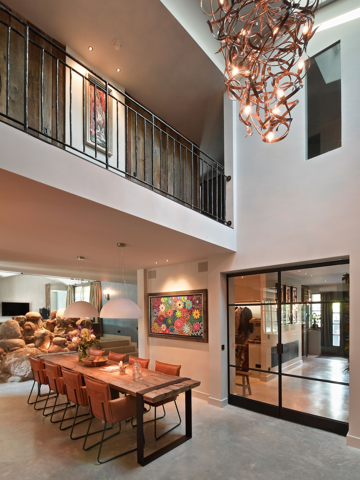 luxe trap, van bruchem staircases, houten trap, exclusieve trappen