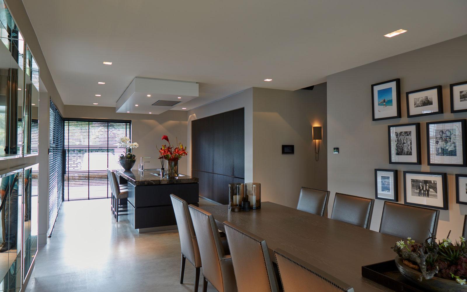 Luxueuze keuken, culimaat, vd Linde Architecten