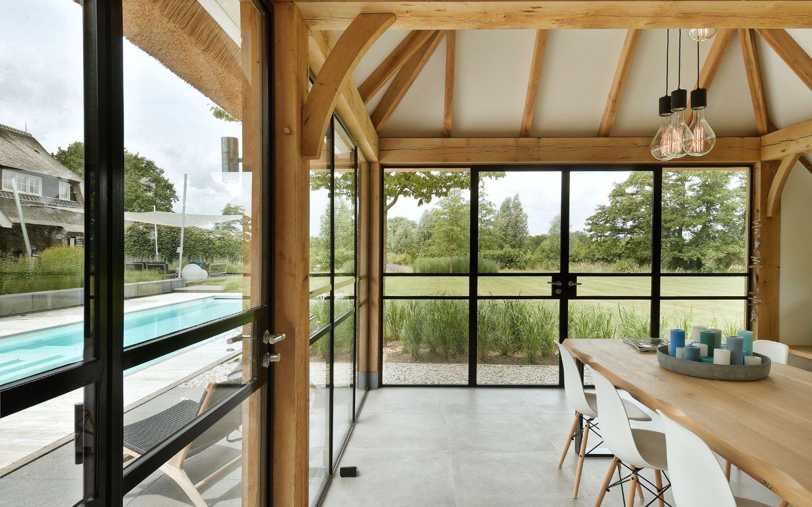 poolhouse, StalenDeurenHuys, the art of living