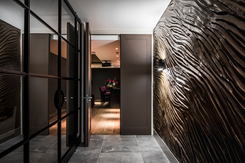taatsdeur, de rooy metaaldesign, stalen deur, staal, exclusieve villa, elegant