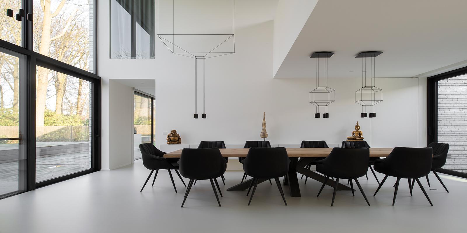 Gietvloer, Strak, Exclusief, interieur