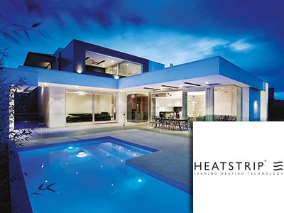Heatstrip, woobbeurs, terrasverwarming