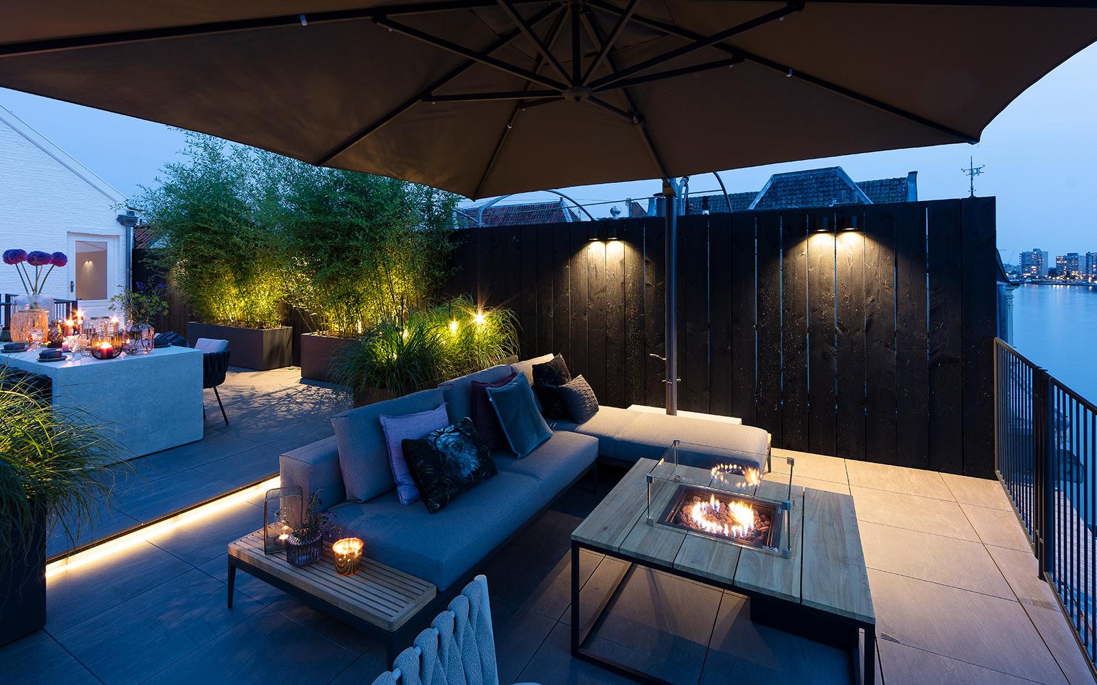 in-lite outdoor lighting, buitenverlichting, avondverlichting