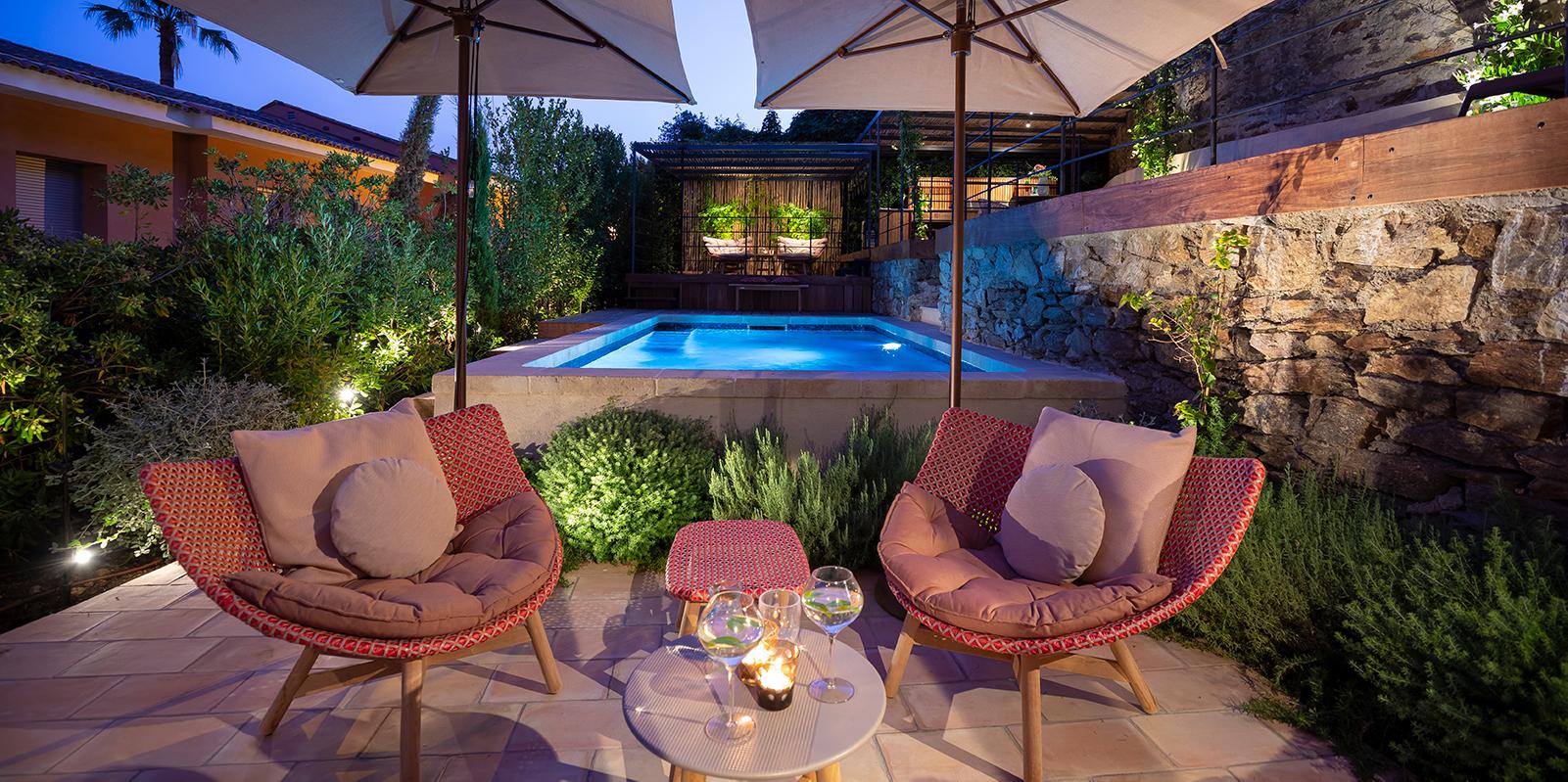 in-lite outdoor lighting, buitenverlichting, villa tuin, exclusief lichtplan