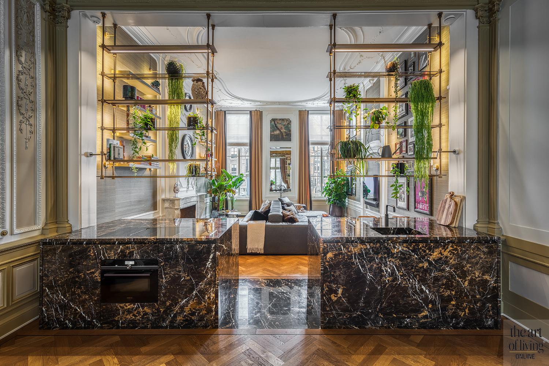 luxueus interieur, Caren Pardovitch, monumentaal pand, exclusief