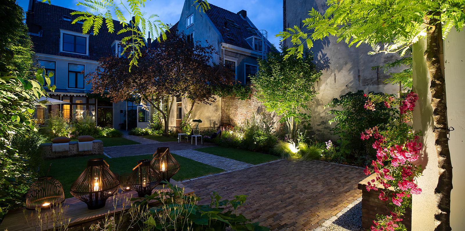 in-lite outdoor lighting, buitenverlichting, moderne tuin