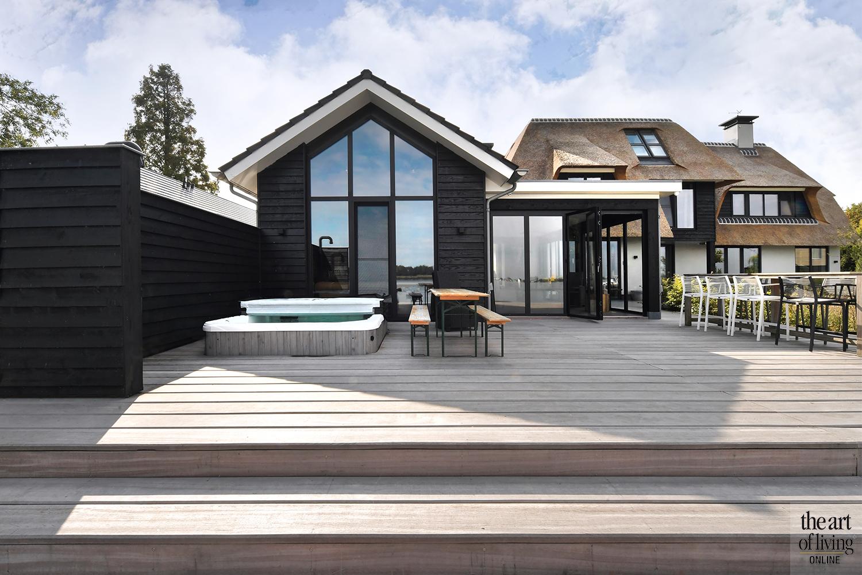 modern, villa, Habe bouwen in stijl, eve architecten, droomhuis, landelijk