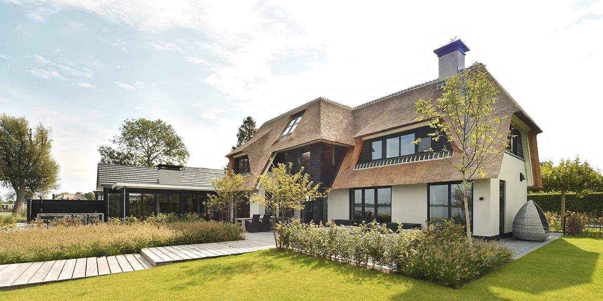 moderne villa, Habe bouwen in stijl, eve architecten, droomhuis, landelijk