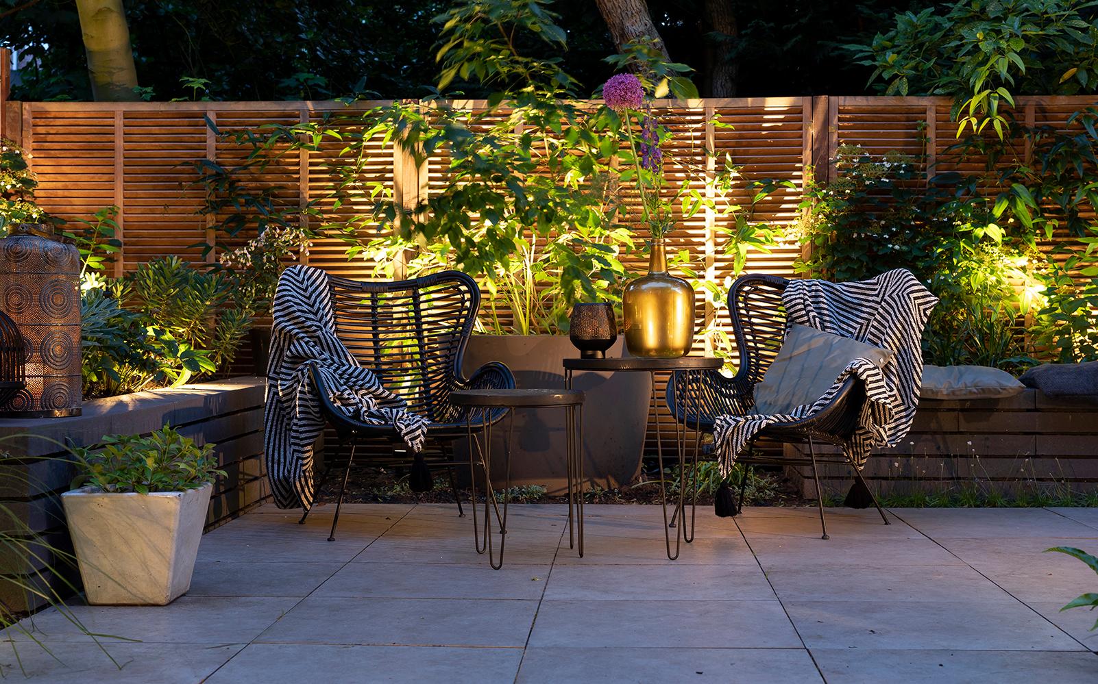 in-lite outdoor lighting, buitenverlichting, groene tuin
