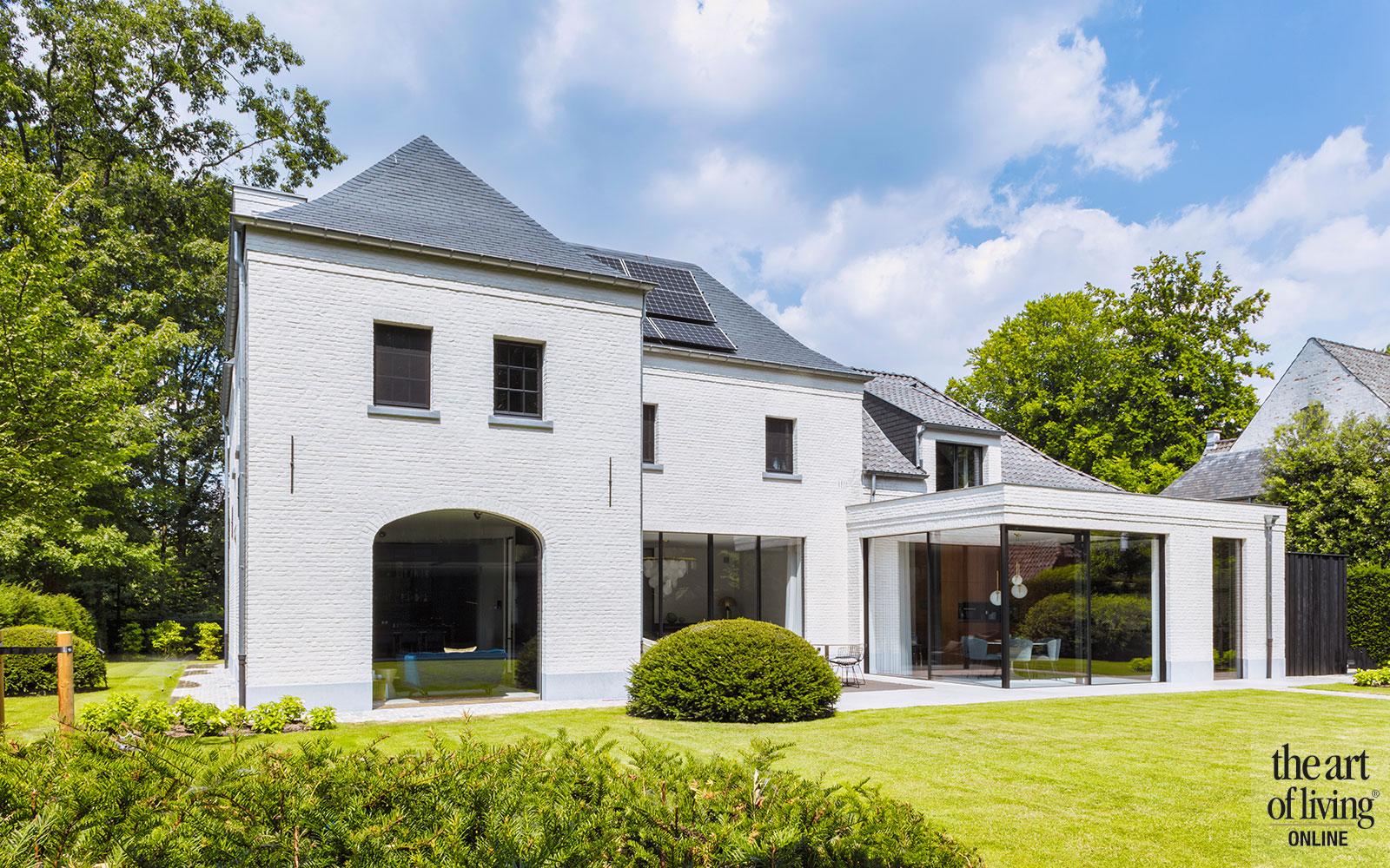 Kempische villa, Mieke van Herck, architectuur