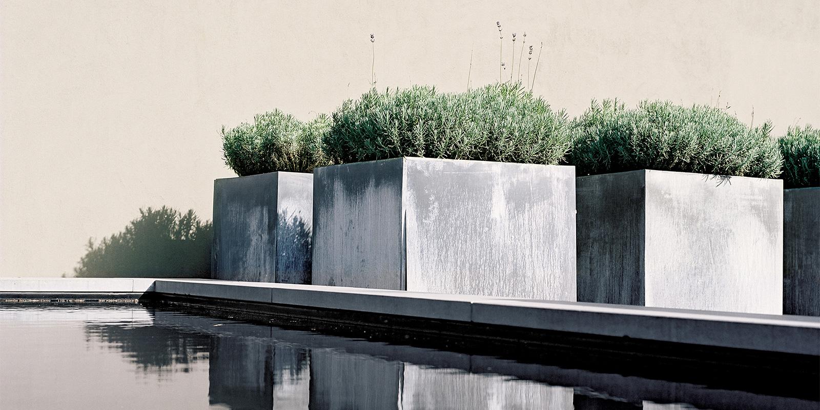 minimalistische tuinarchitectuur, koster, dick beijer, minimalisme, strak, modern