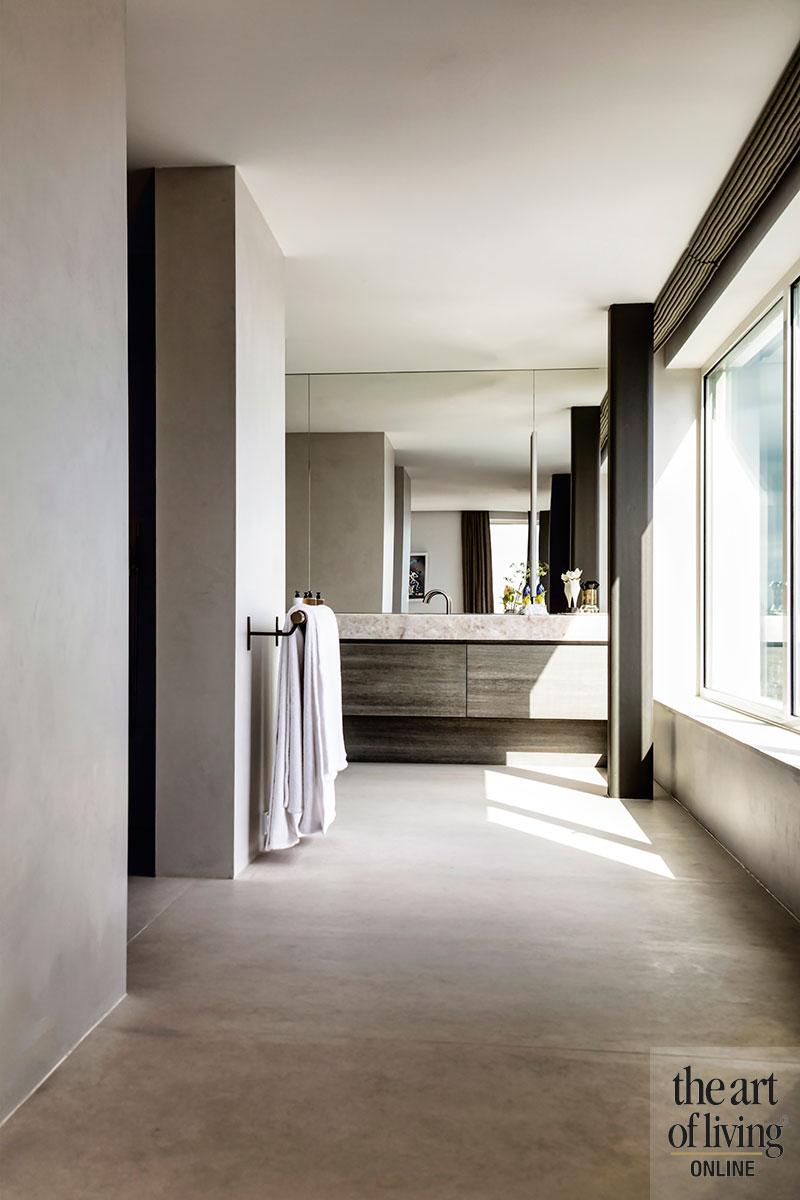 Penthouse met uitzicht, Piet Boon, interieurdesign