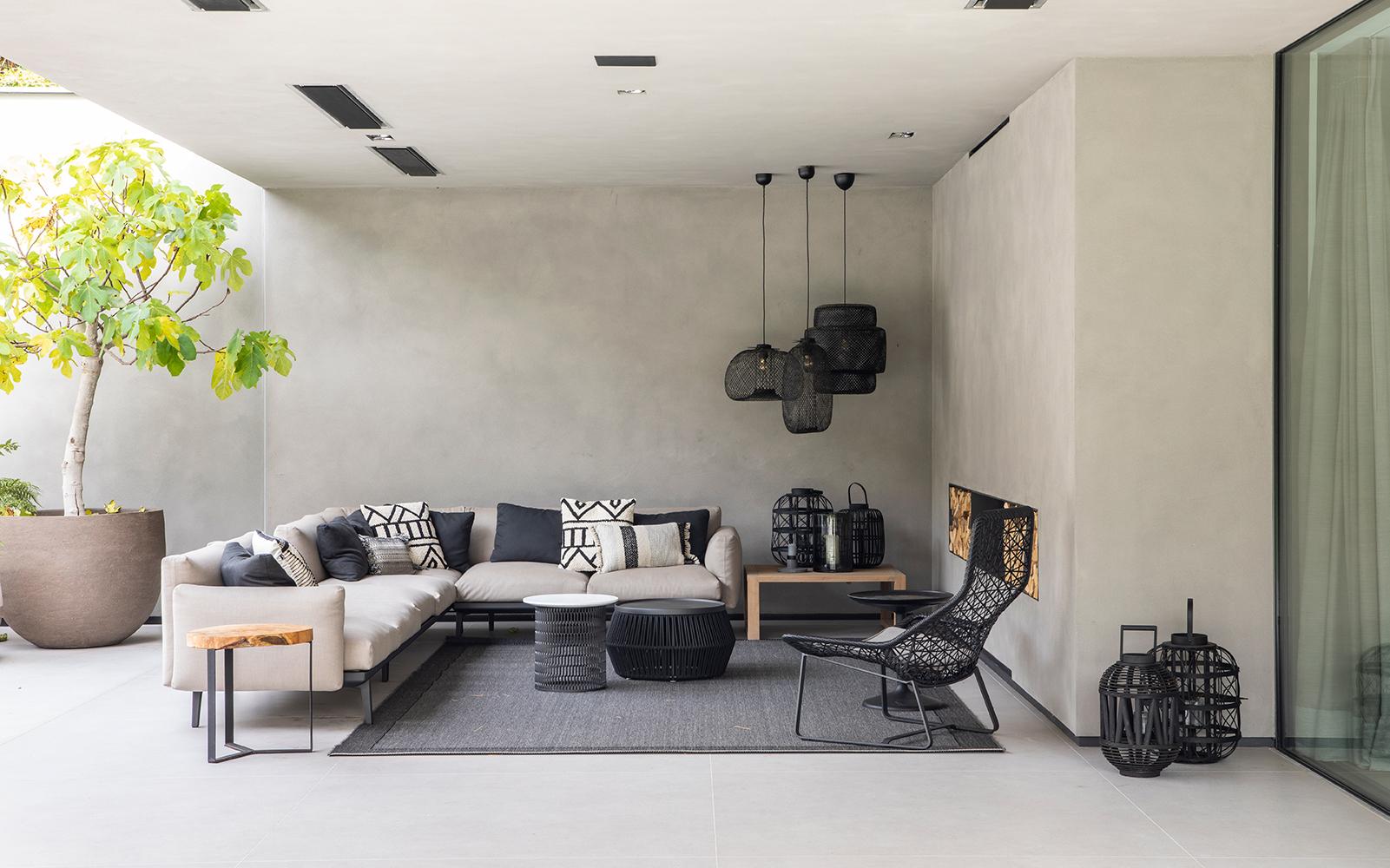 Vlassak Verhulst, moderne villa, natuurlijke materialen