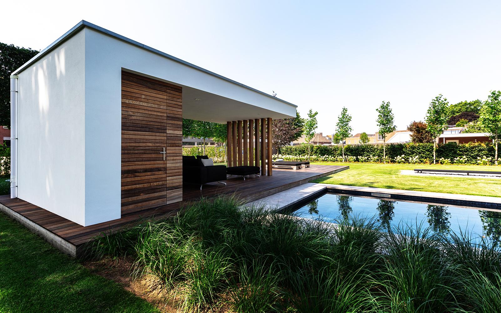 Stoop Tuinen, Moderne tuin. strak, sober, luxe, eenheid