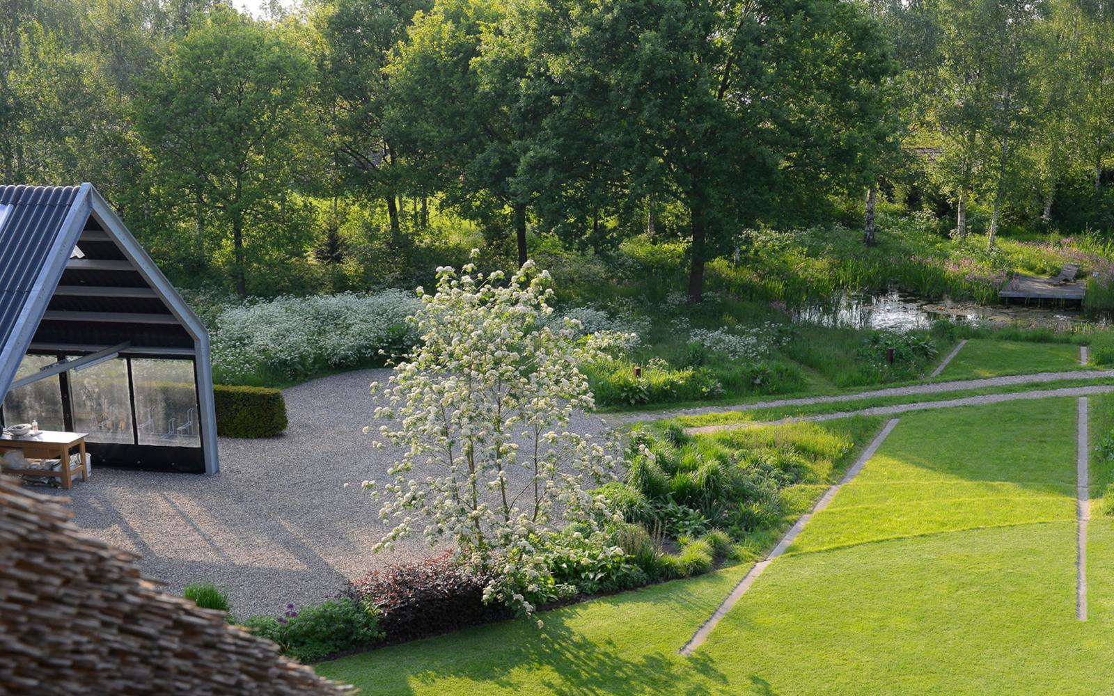 natuurlijke tuin, Van Mierlo Tuinen, Natuur, eenheid, afwisseling