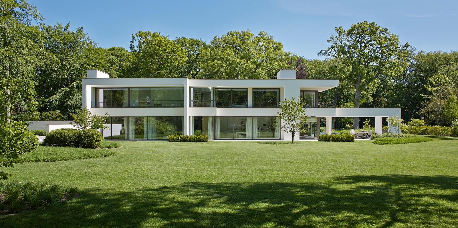 Moderne nieuwbouwwoning, Vlassak Verhulst