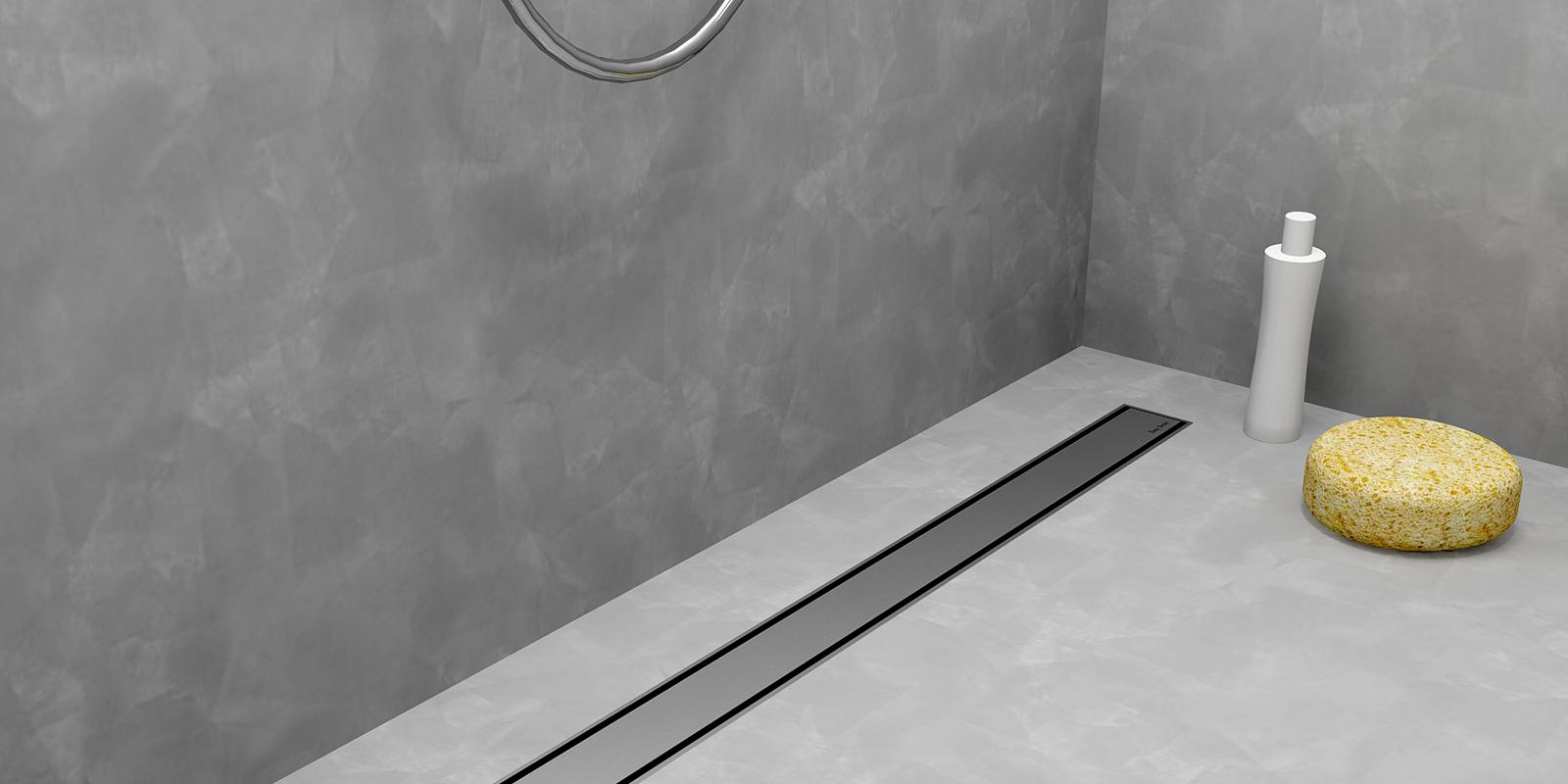 Gietvloer, badkamer, RM Sanitair, Easy Drain