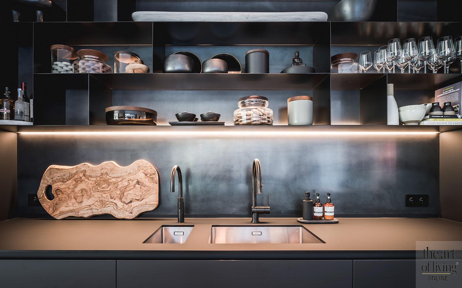 High End Kitchens, Culimaat, maatwerk keukens, zwart wit keuken
