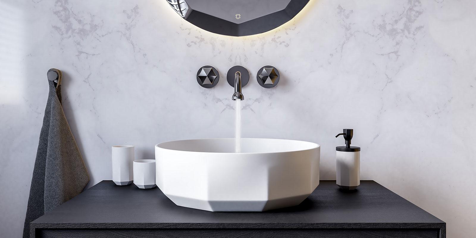 Beleef de inspirerende wereld van JEE-O, JEE-O, badkamer ontwerp, zwart wit
