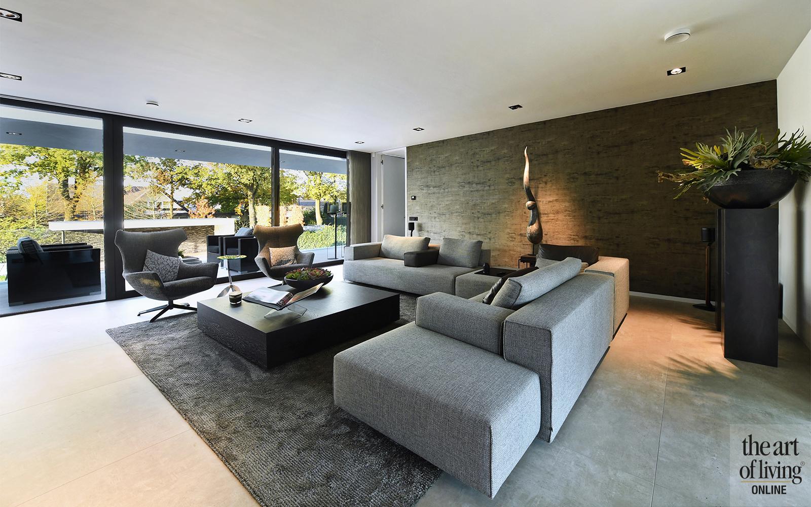 Lab32 architecten, moderne villa, modern, hedendaags