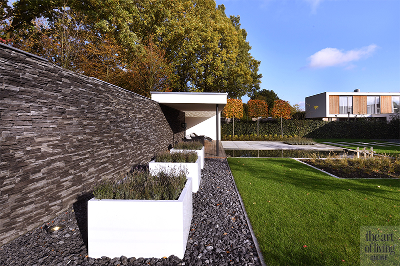 moderne villa, modern, hedendaags
