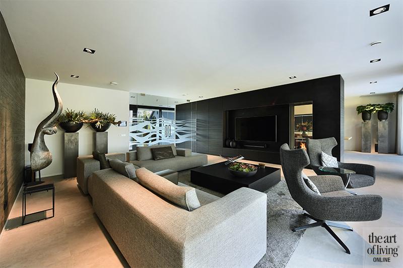 strak interieur, moderne villa, modern, hedendaags