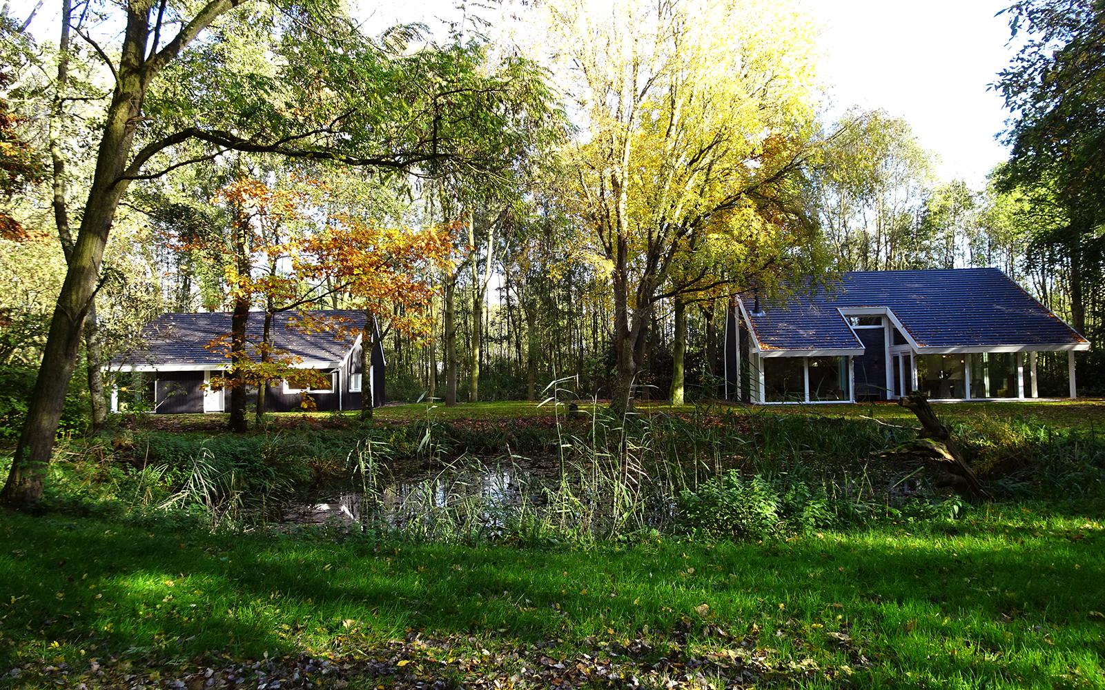 Finnhouse, unieke bosvilla, villa, natuur, bos,