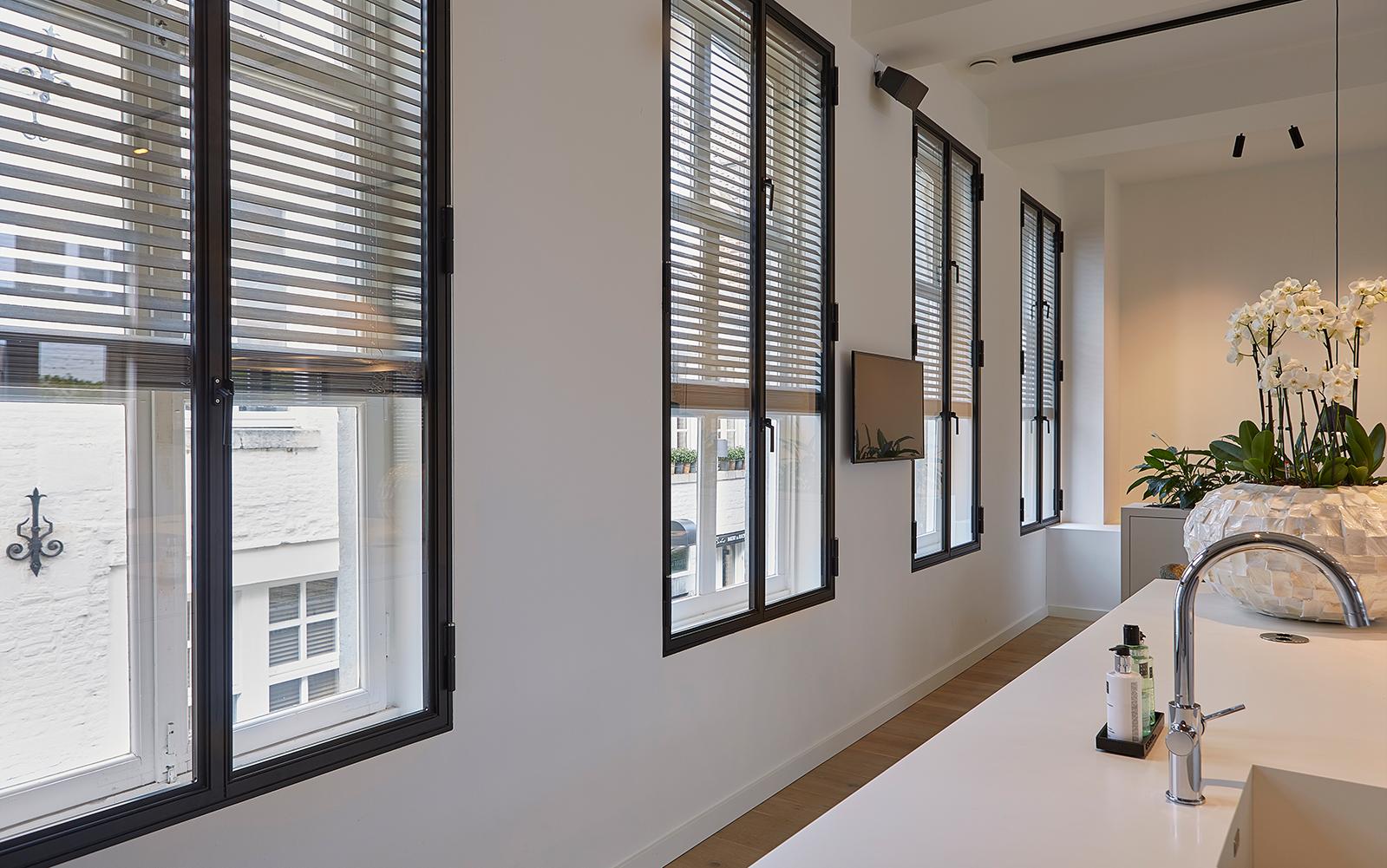 JASNO, Luxe shutters, raamdecoratie, raambekleding, keuken