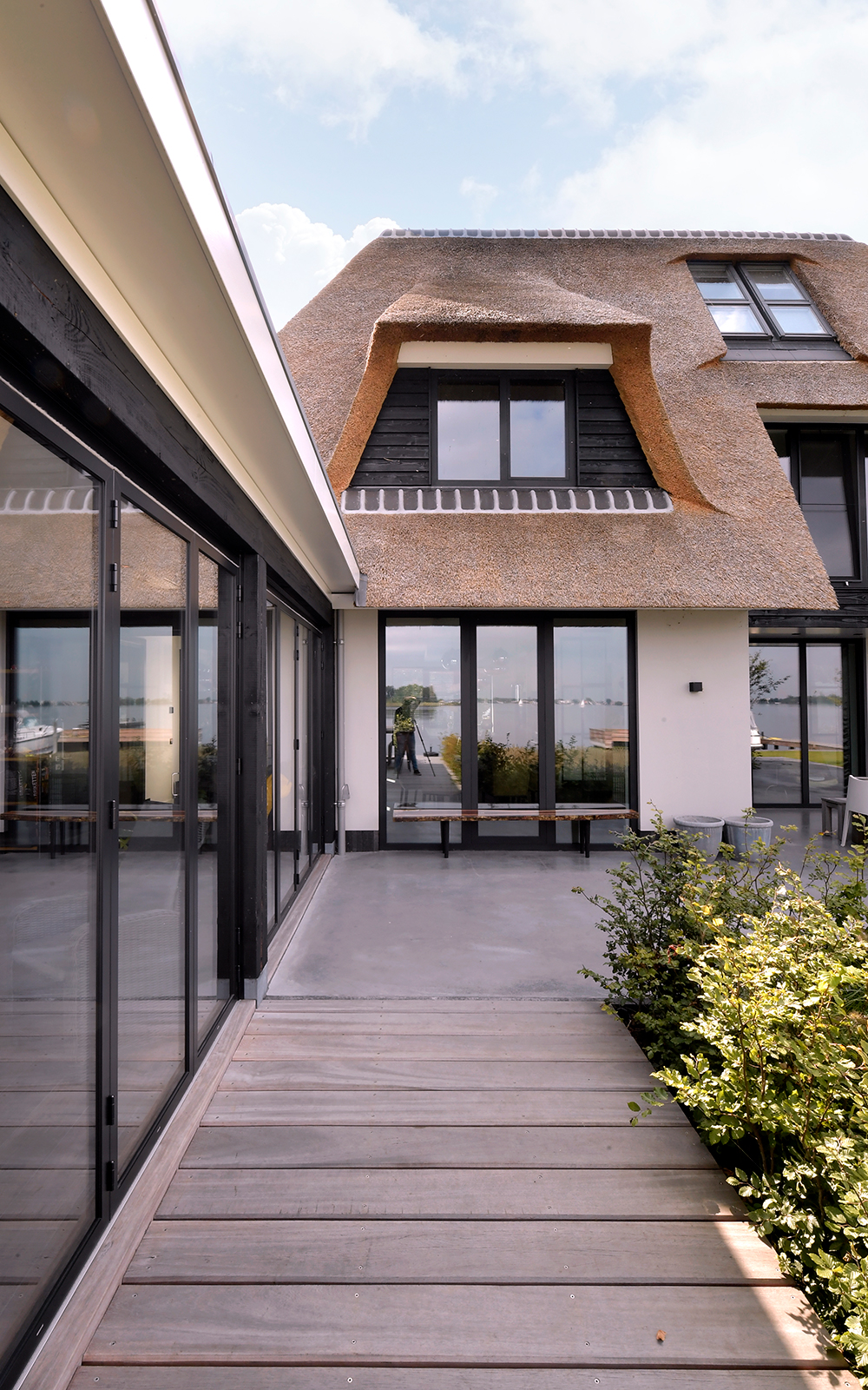 Solarlux, uitzicht, glazen schuifpui, villa