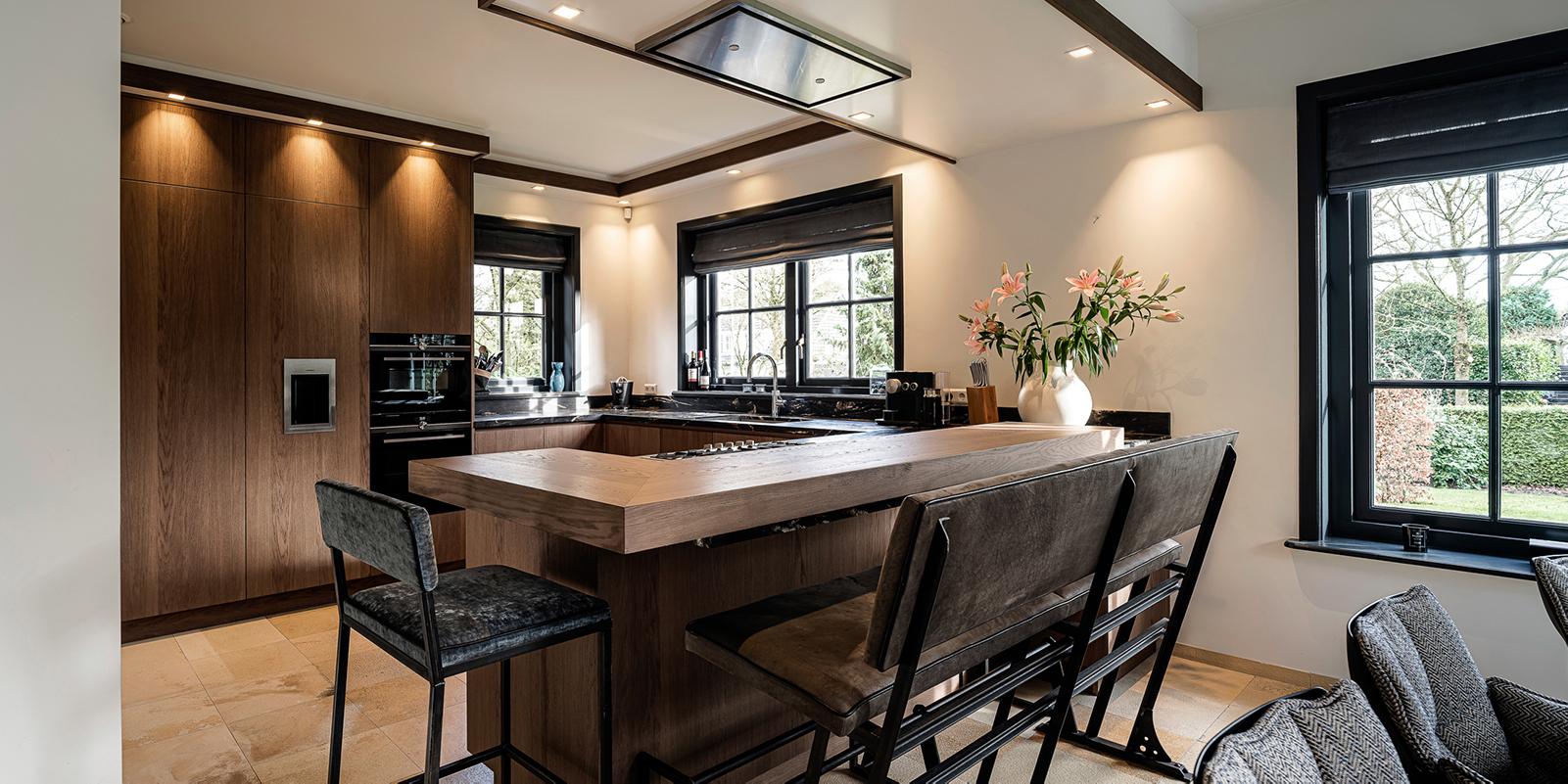 houten keuken , Van Essen keuken, the art of livings