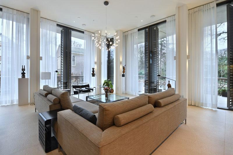 modern appartement, modern interieur Petra van Trigt, karaktervol, appartement