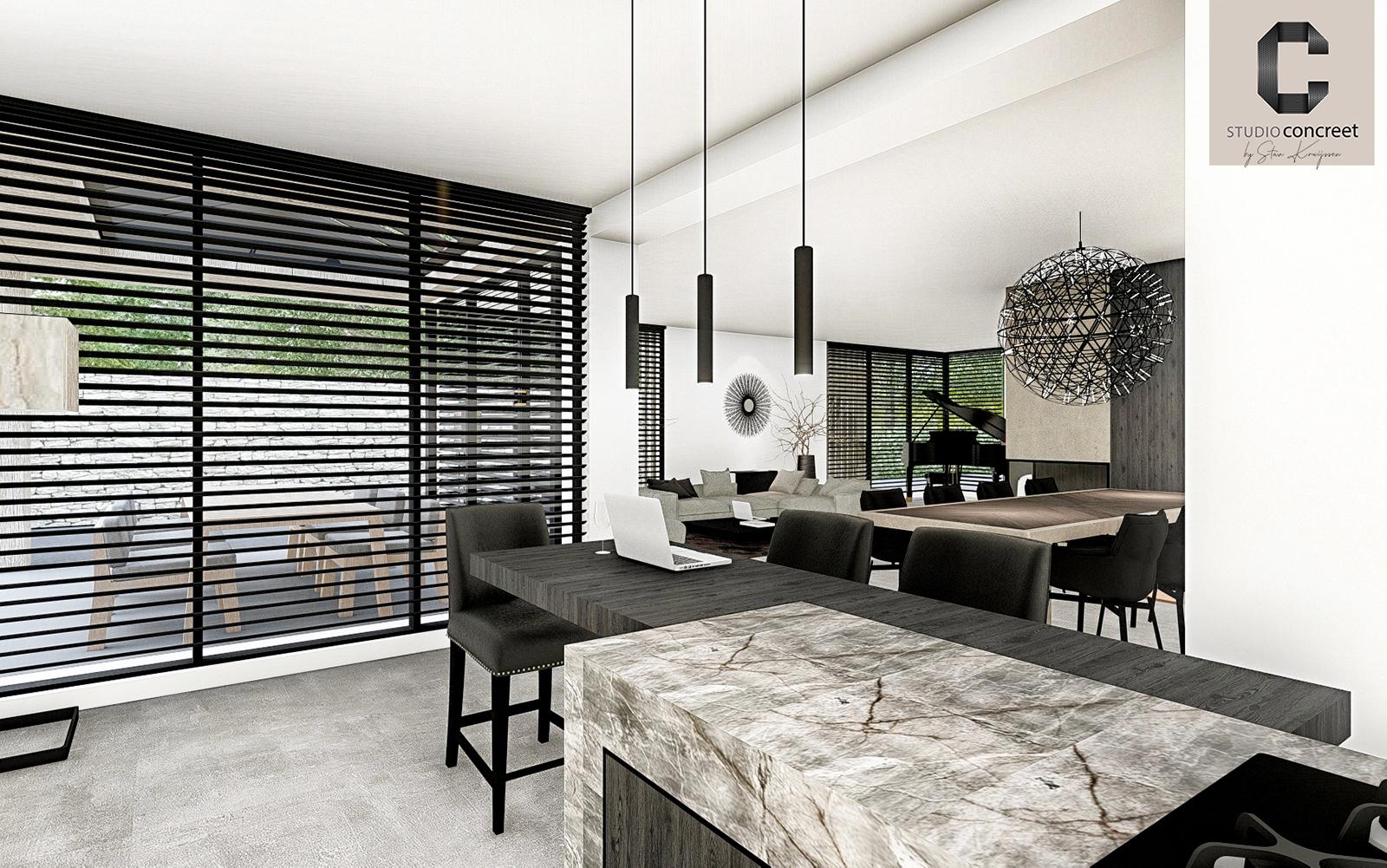 Studio Concreet, luxe interieur