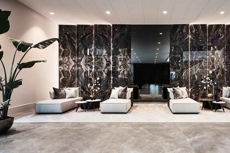 Dami luxury interior