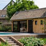 houtenpoolhouse, hout & living, bijgebouw