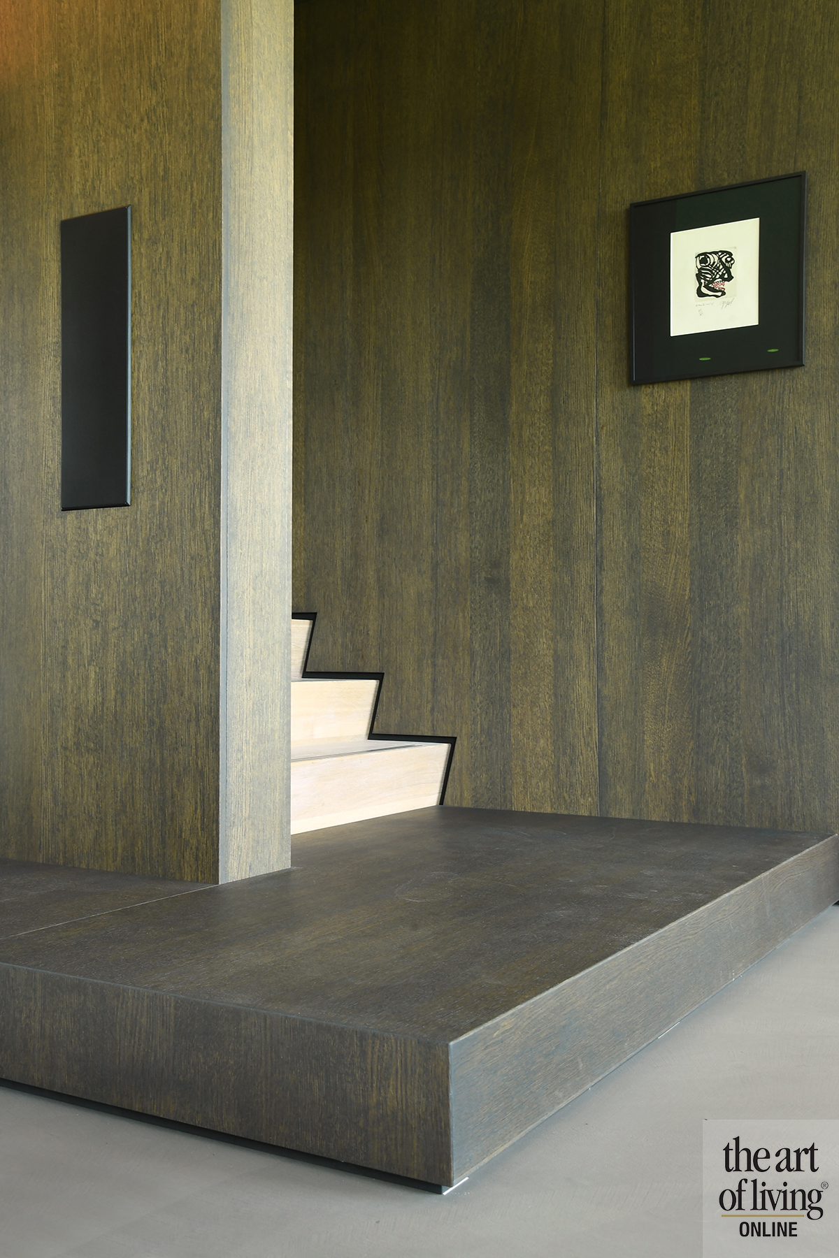 Inspiratie 4x trappen, The Art of Living, LA Architecten