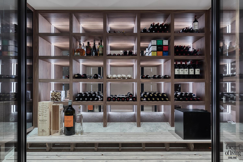 Inspiratie 3x wijnkelder, The Art of Living