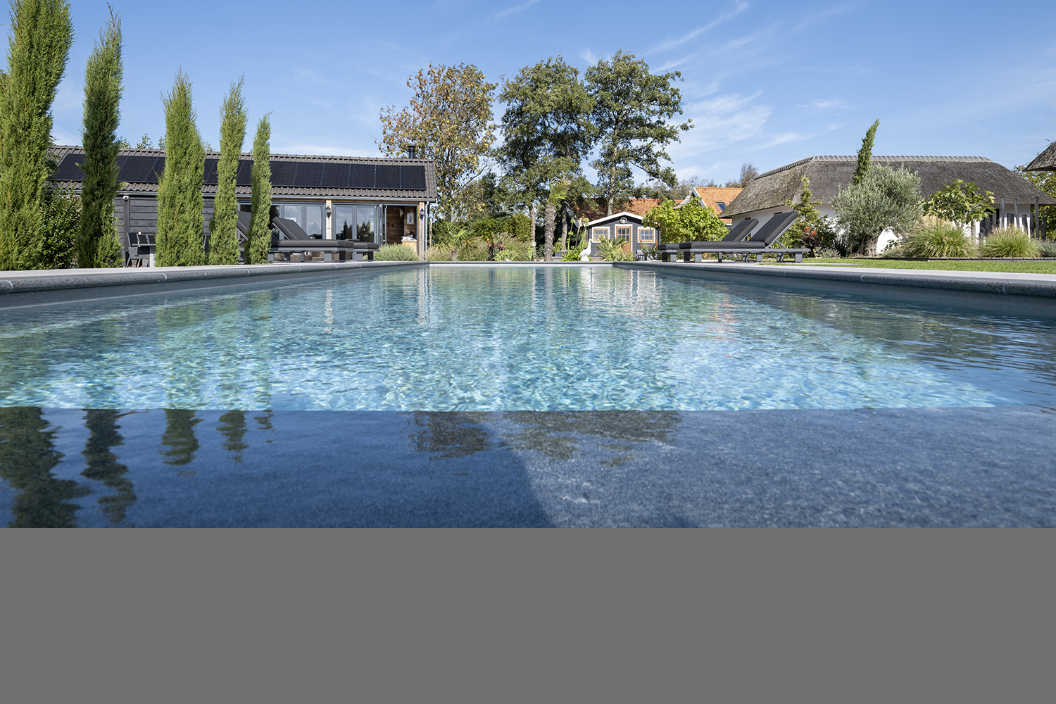 buitenzwembad, Compass Pools, The Art Of Living