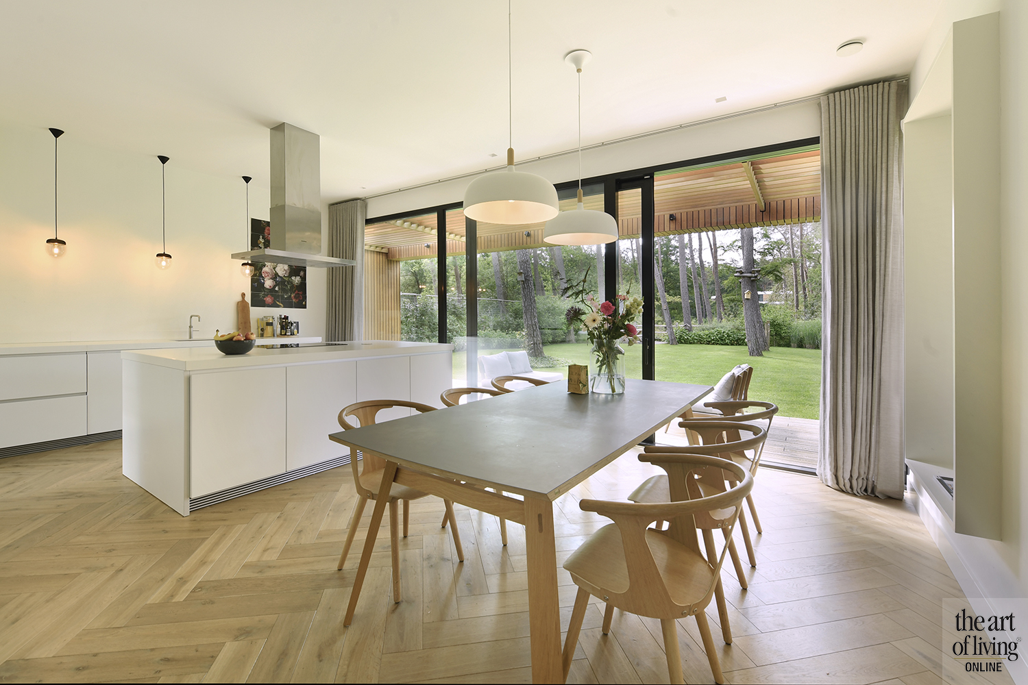 Moderne villa, Kraal Architecten, the art of living